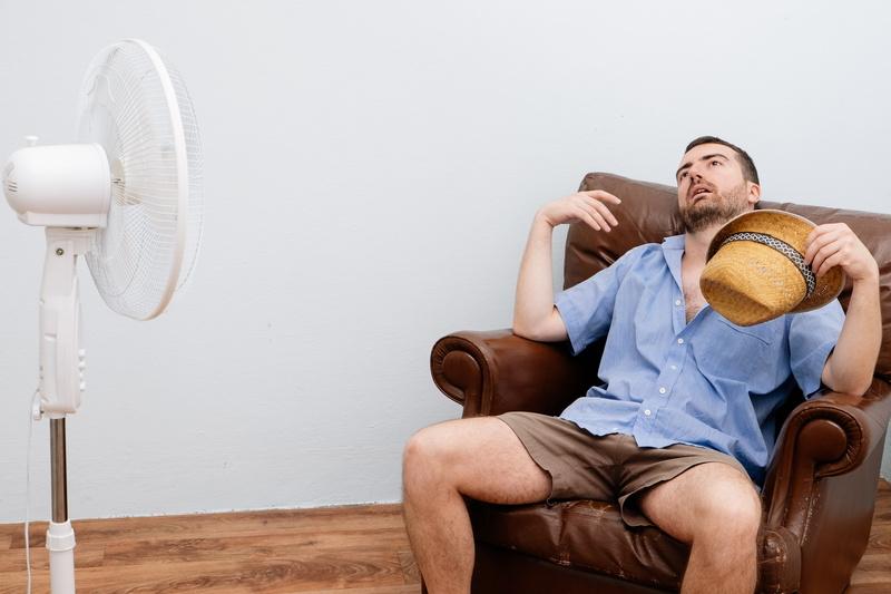 overheated-man